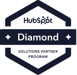HubSpot Diamond Partner badge