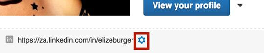 Linkedin Profile Edit