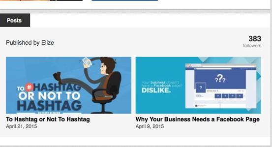 Linkedin Articles