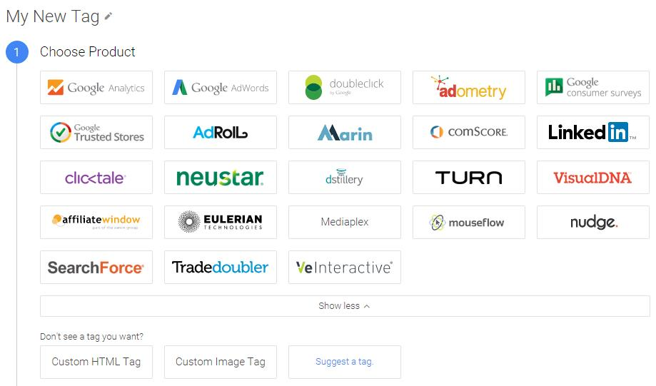 Google Tag Manager Tags