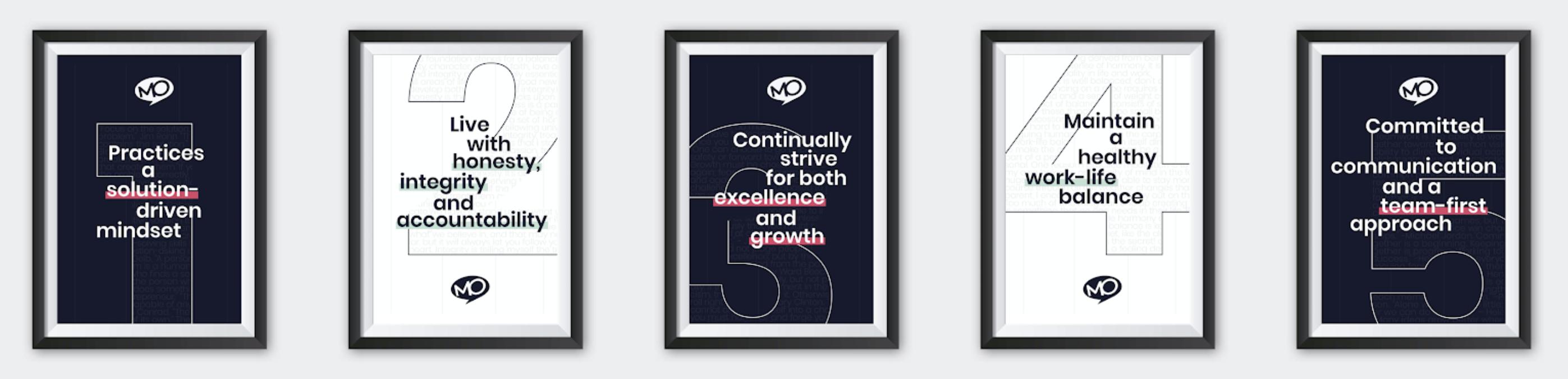 MO Agency Company Values