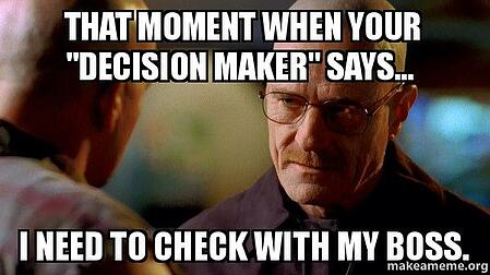 selling to decision makers