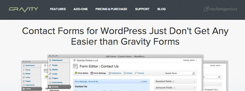 Gravity Forms for WordPress