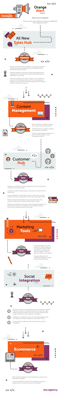 HubSpot Updates 2017 infographic