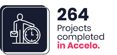 264 Projects completed in Accelo